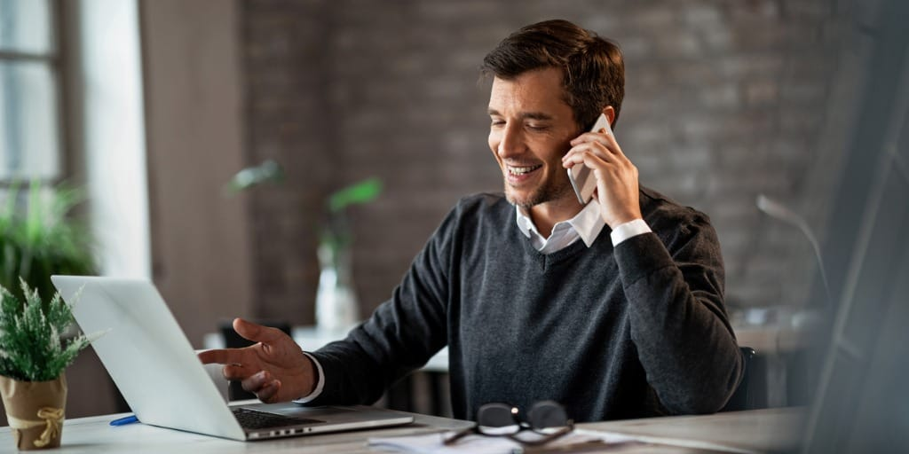 real estate agent cold-calling leads